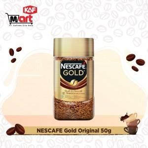 Nescafe Gold Kopi Instan Kopi Hitam 50g Jar