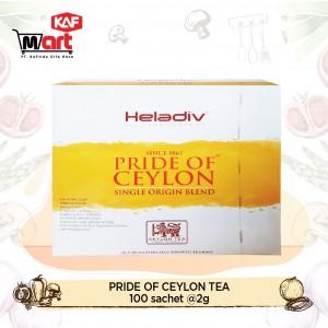 Heladiv Pride of Ceylon Tea 100 Sachet