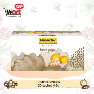 Heladiv Lemon Ginger 20 Sachet