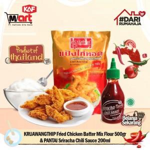 Paket Bundling Tepung goreng ayam & Sriracha Chili Sauce 200ml