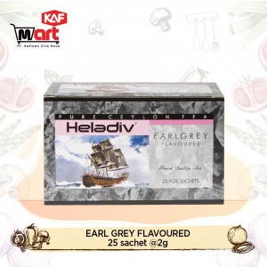 Heladiv Black Tea Earl Grey 25 Sachet