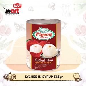 Pigeon Lychee In Syrup 565g