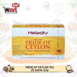 Heladiv Pride of Ceylon Tea 25 Sachet
