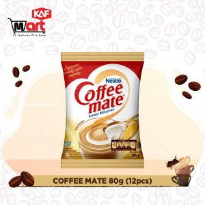 Coffee Mate Kopi Krimer Pouch 80g – 12 pcs