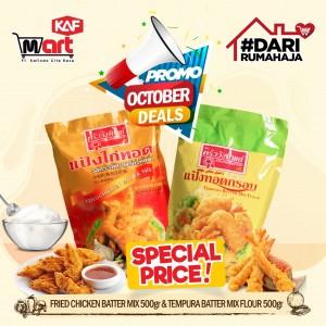[BUNDLING OCTOBER DEAL] 1 Tempura Flour + 1 Fried Chicken Batter Mix