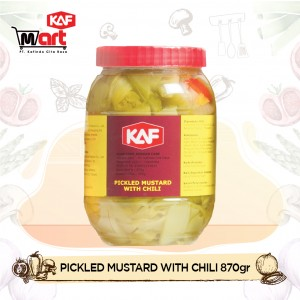 KAF Pickled Mustard With Chili 870gr