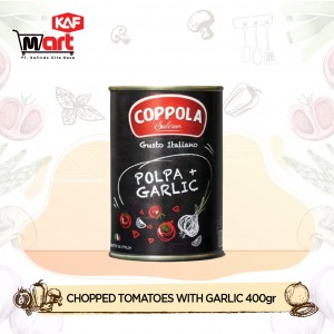 Coppola Polpa Chopped Tomatoes With Garlic 400gr