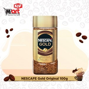 Nescafe Gold Kopi Instan Kopi Hitam 100g Jar