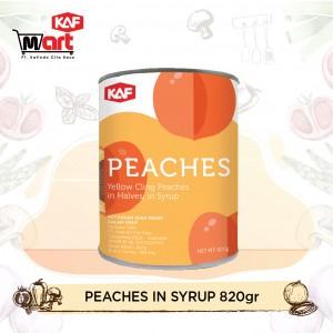 KAF Peach In Syrup 820gr